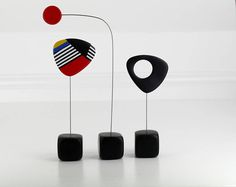 Abstract Mid Century, Modern Home, Sculpture Art, Modern Retro Sculpture, Calder Style, Retro Modern, Home Decor, Modernist, Mid Century
