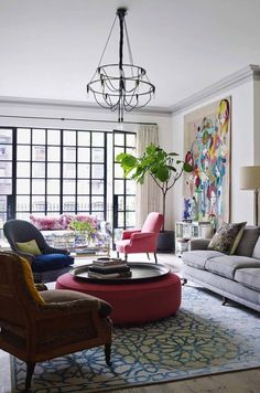 Luxurious New York City townhouse with astounding design details