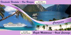 Fie că preferi frumusețea fiordurilor norvegiene sau brizele plăcute ale Insulelor Mediteranei, noi avem pentru tine, la ofertă, croaziera perfectă.   Intră www.pe-drumuri.ro și rezervă croaziera favorită!