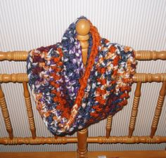 Beautiful Handcrafted Neck Cowl Isaac Mizrahi by AlidaAccents