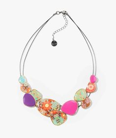 72G9ED4_3001 Desigual Necklace Chapas Kaitlin Buy Online