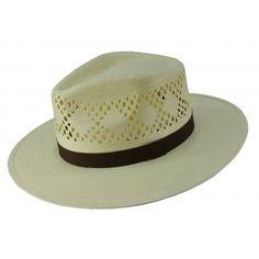 Chapéu modelo Panamá rendado