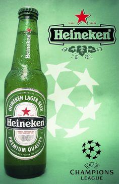 Publicidad de la marca Heineken Manejo de las herramientas photoshop and ilustrator