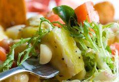 Big Kahuna Hawaiian Salad. Pineapple Tahini Dressing.
