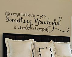 Bedroom Wall Decal - Master Bedroom Wall Decal - Wall Decals For the Home - Insp. Bedroom Wall Decal - Master Bedroom Wall Decal - Wall Decals For the Home - Inspirational Quote - Vinyl Wall Decal - Wall Quote❤️ Source by rootiekazo. Wall Decals For Bedroom, Vinyl Wall Decals, Wall Stickers, Bedroom Decor, Master Bedroom, Wall Decor, Christian Wall Decals, Bedroom Quotes, Vinyl Quotes