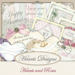 Hearts and Roses By Hearts Designs