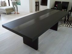 Handmade Modern Dining Table by Bedre Woodworking   CustomMade.com