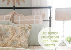 Diy Pillow Shams: DIY Pillow Shams DIY Home DIY Decor