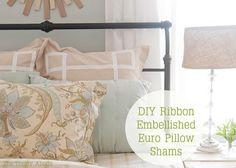Diy Pillow Shams: DIY Pillow Shams DIY Home DIY Decor
