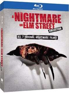 This collection of the NIGHTMARE ON ELM STREET movies includes Wes Craven's original entry in the series as well as A NIGHTMARE ON ELM STREET 2: FREDDY'S REVENGE, A NIGHTMARE ON ELM STREET 3: DREAM WA