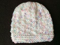 Ravelry: NEVIS Baby Hat pattern by marianna mel Baby Hat Knitting Patterns Free, Baby Hat Patterns, Christmas Knitting Patterns, Baby Hats Knitting, Knit Patterns, Knitted Blankets, Knitted Hats, Knit Or Crochet, Crochet Hats