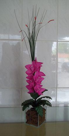 Arranjo de Flores - Orquídea