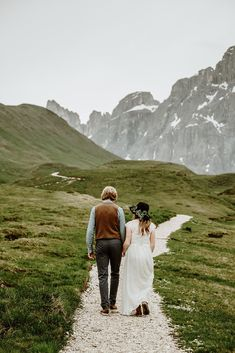 A multi-day hiking elopement in the Dolomites in Italy. Elope Wedding, Wedding Vows, Wedding Dresses, Got Married, Getting Married, Elopement Inspiration, Storm Clouds, Wedding Night, Amazing Adventures