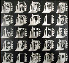 . galerie frank elbaz . Wallace Berman 1970