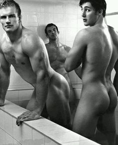 Gay jocks in the shower