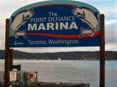 Point Defiance Marina.