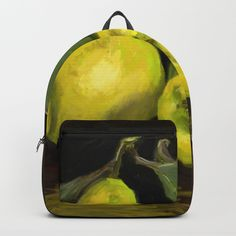 are crafted with spun poly fabric for durability and print Thoughtful details include double zipper enclosures, padded nylon back and bottom, interior laptop pocket (fits up to adjustable shoulder straps and front pocket for accessories. Yellow Theme, Shoulder Straps, Back To School, Laptop, Collections, Backpacks, Autumn, Zipper, Unisex