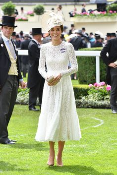 The Duchess of Cambridge, neé Kate Middleton, rounded off her busy week by making her hotly anticipated debut at Royal Ascot.