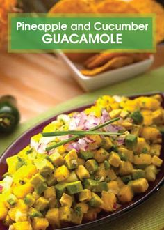 chilies take this sweet and creamy Pineapple and Cucumber Guacamole ...