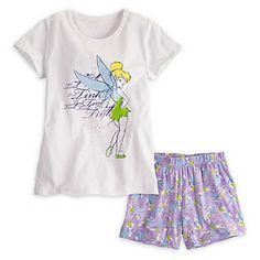 Tinker Bell Pjs for Women Disney Store