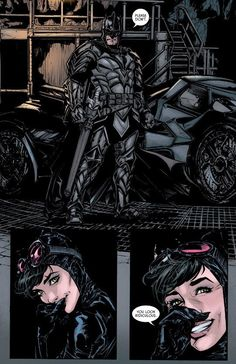 the-dark-knight-gets-a-new-costume-in-batman-39-and-catwoman-thinks-he-looks-ridiculous11 Catwoman Y Batman, Batman Y Superman, Catwoman Cosplay, Batman Art, Batgirl, Batwoman, Batman Universe, Dc Universe, Nightwing
