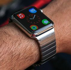 apple watch stainless link...