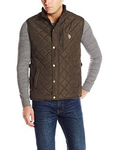58% Off. U.S. Polo Assn. Men's Diamond Quilted Vest, Dark Brown, Small U.S. Polo Assn. http://www.amazon.com/dp/B00LIQPN52/ref=cm_sw_r_pi_dp_RsSpub1KB9MNJ