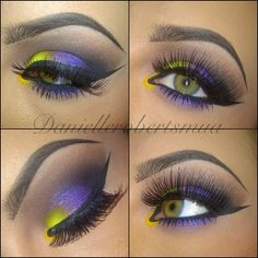 Colorful Makeup with sexy Lashes
