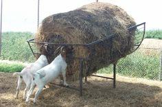 Goat Round Bale Feeders