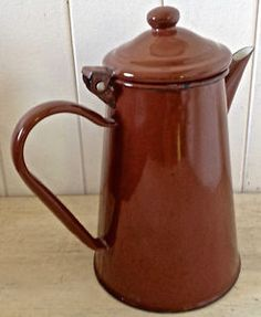 Enamel Ware, Granite, Tea Pots, Tableware, Colors, Collection, Vintage, Enamels, Kitchen Items