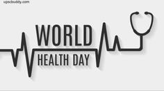 World Health Day - Essay, Paragraph and Speech for Students World Health Day, World Days, Vector Logo Design, Quote Of The Day, Clip Art, Doors, Facebook, Drawing, Quotes