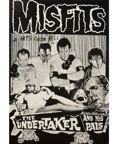 Smugglers Misfits ''The Undertaker''(24x36) $8.00 #punk #poster