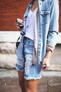 Denim layers