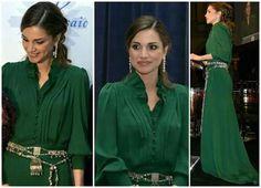 Queen Rania green dress