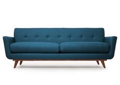 Thrive Home Furnishing's Nixon Sofa (Would love to someday have this in the Wheatgrass fabric, despite that preview being the one that doesn't work - a google image search showed it to me on a chair they make and it's a great shade of green.) $1900, made in the USA