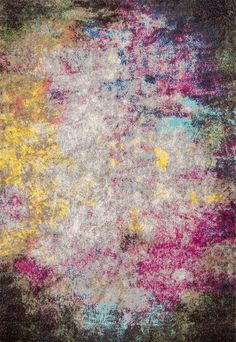 Full of amazing color! This is Rugs USA's Albina CR19 Smoke Clouds Abstract Rug!