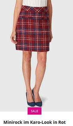 Erhältlich im onlineshop von bonita.de mit 8% Cashback für KGS Partner Abs, Skirts, Fashion, Mini Skirts, Fashion Women, Moda, Crunches, Fashion Styles, Skirt