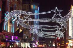 London Weihnachten, Weihnachtsbeleuchtung London