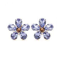 Cute little daisy Dolce & Gabbana - Embellished clip-on earrings #accessories #dolceandgabbana #stefanogabbana #women #designer #covetme #dolce&gabbana