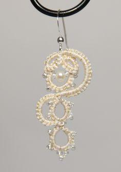 Olga scheme set of earrings and necklace by Darina Nikonova