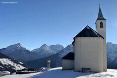 Chiesa di Santa Barbara Danta di Cadore Belluno Dolomiti Veneto Italia