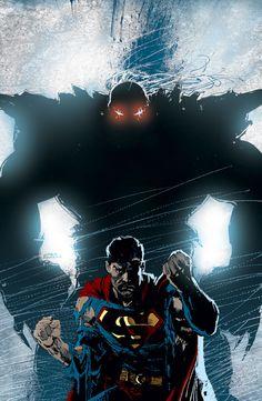 Superman vs Doomsday by Dan Jurgens Comic Villains, Comic Book Characters, Comic Character, Comic Books, Superman Man Of Steel, Batman Vs Superman, Superman Images, Dc Comics Art, Marvel Dc Comics