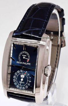 Patek Philippe Gondolo 8 Days 18k White Gold Watch Box/Papers 2015 5200G | eBay