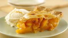 Peach pie is traditionally considered a summer specialty, but this Ohio State Fair winning pie is equally good with frozen peaches so you can enjoy it year 'round.