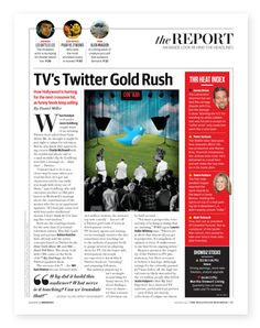 Hollywood Reporter magazine service page