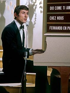 "Udo Jürgens - ""Merci Chérie"" - Austria, winner of the Eurovision Song Contest 1966 in Luxembourg"