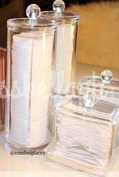 Trendy Diy Soap Dish Holder Cleanses - make up room studio Makeup Storage, Makeup Organization, Diy Soap Dish Holder, Q Tip Holder, Cute Room Decor, Makeup Rooms, Bathroom Organisation, Bathroom Storage, Small Bathroom