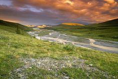 Ivvavik National Park in Yukon Canada in beeld