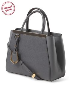 Made In Italy Leather Pee 2jours Per Satchels T J Ma Fendi