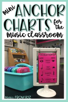 Anchor charts are great visual resources for students to use in your classroom. These Mini Anchor Charts for the Music Classroom are perfect for individual work. They fit perfectly in the IKEA Tolsby Frames as well! Music Anchor Charts, Music Charts, Ikea Tolsby Frame, Elementary Music Lessons, Elementary Schools, Music Education, Music Teachers, Health Education, Physical Education